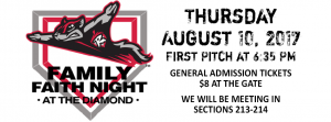 Family Faith Night at the Diamond @ The Diamond | Richmond | Virginia | United States