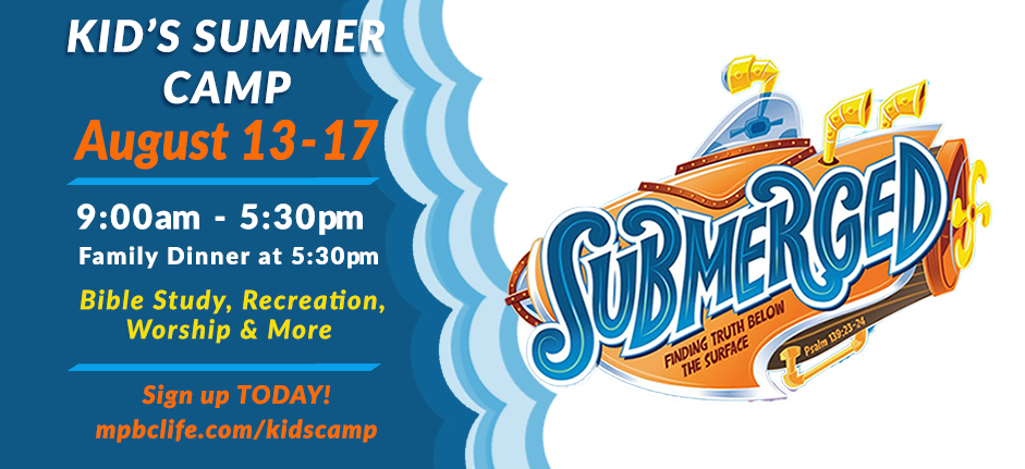 Kids Summer Camp: Submerged