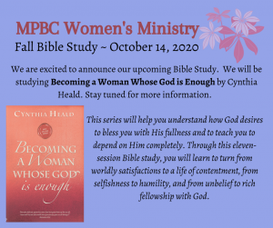 Women's Bible Study @ Choir Room