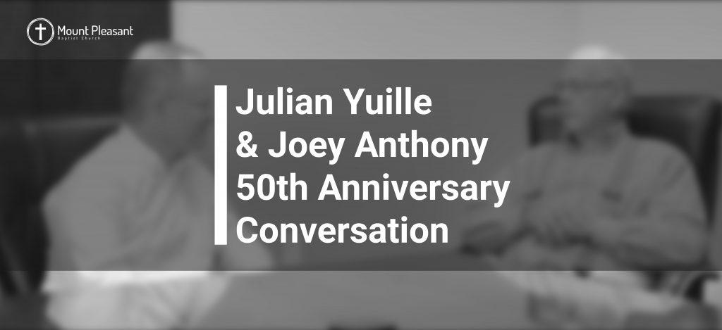 Julian Yuille 50th Anniversary Conversation