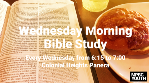 Youth Bible Study @ Panera - Colonial Heights